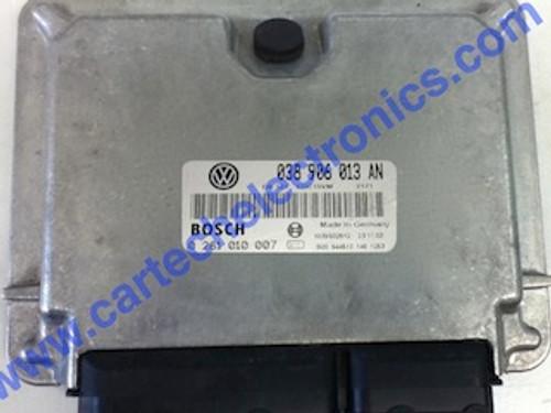 Seat Inca, VW Caddy, 1.9 SDI, ECU, 0281010007, 0 281 010 007, 038906013AN, 038 906 013