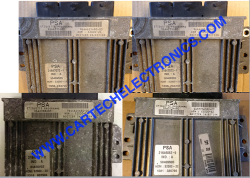 Engine ECU Sagem S2000-2A, S2000 Coolant temperature Malfunction Repairs