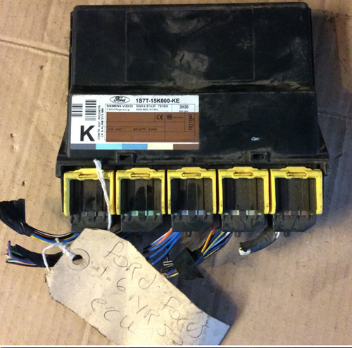Ford Alarm System, 1S7T-15K600-KE, 3H30 ,5WK4 8743F