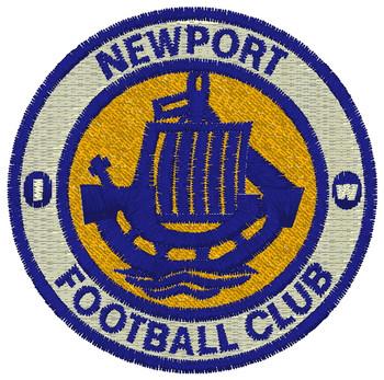 Newport IW FC Fleece Scarf - YELLOW