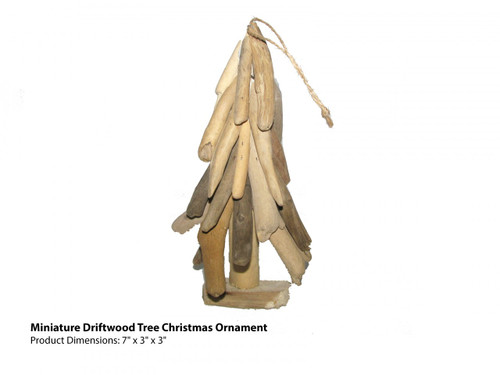 driftwood ornament small tree coastal christmas decor - Coastal Christmas Decorations For Sale