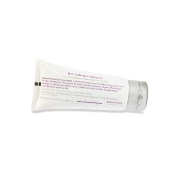 Livionex Dental Gel Tube with ingredients and directions