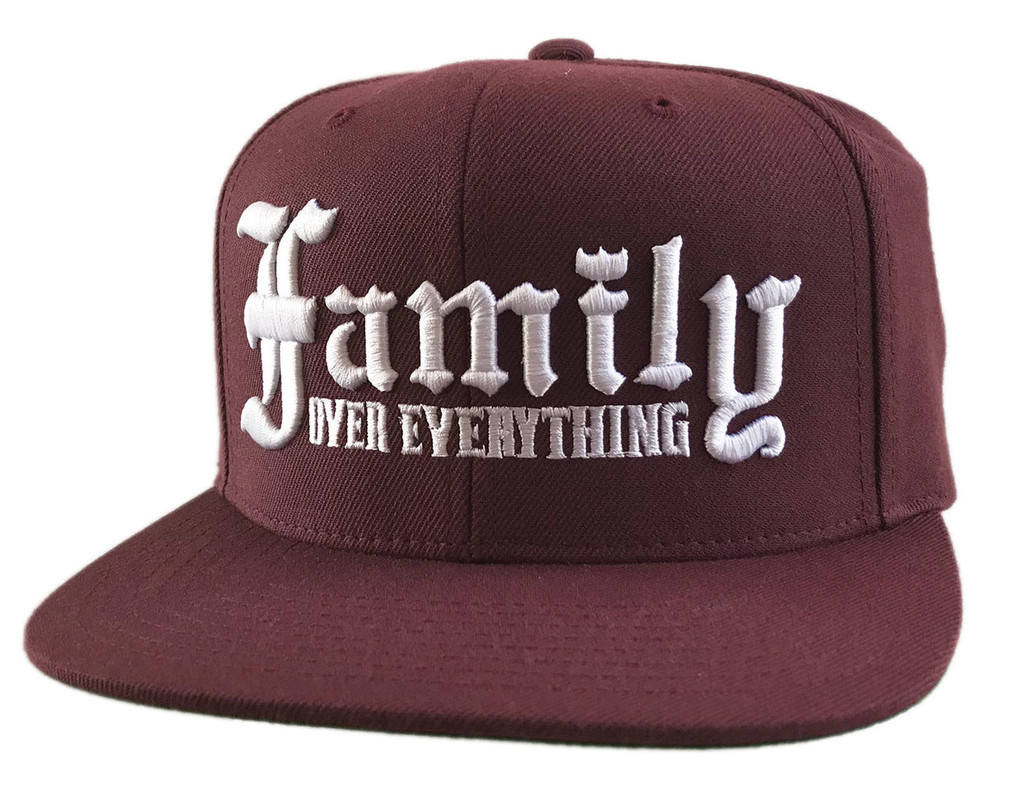 Streetwise Family Snapback BURG