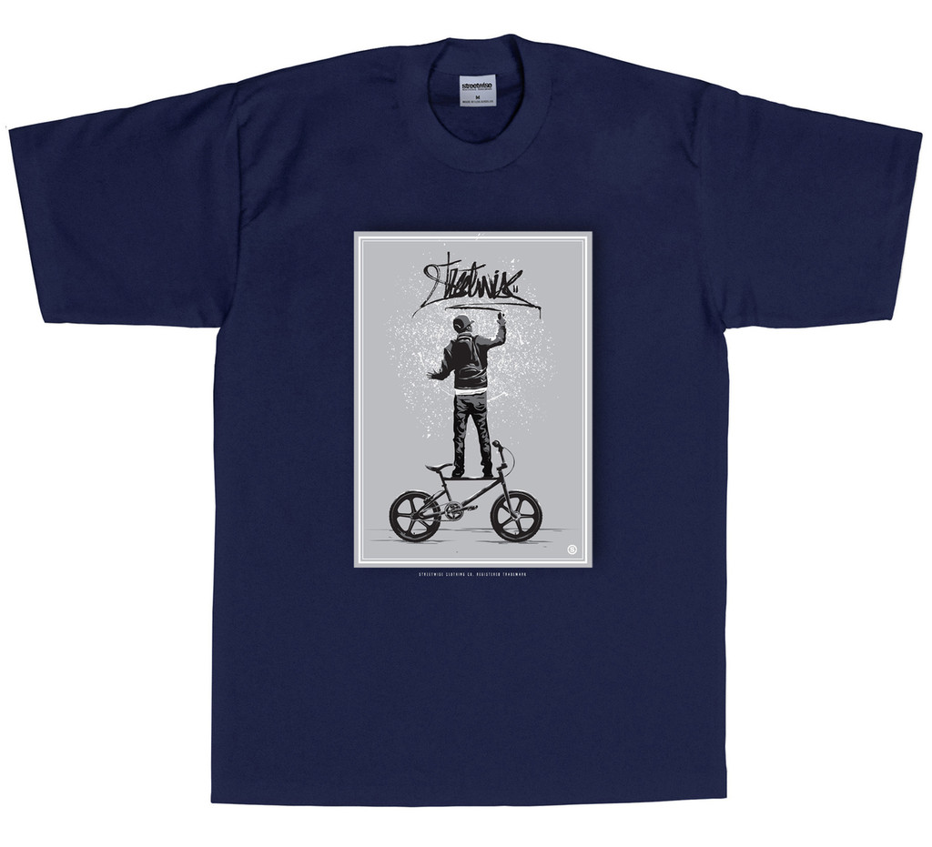 Streetwise Get Up T-Shirt NVY