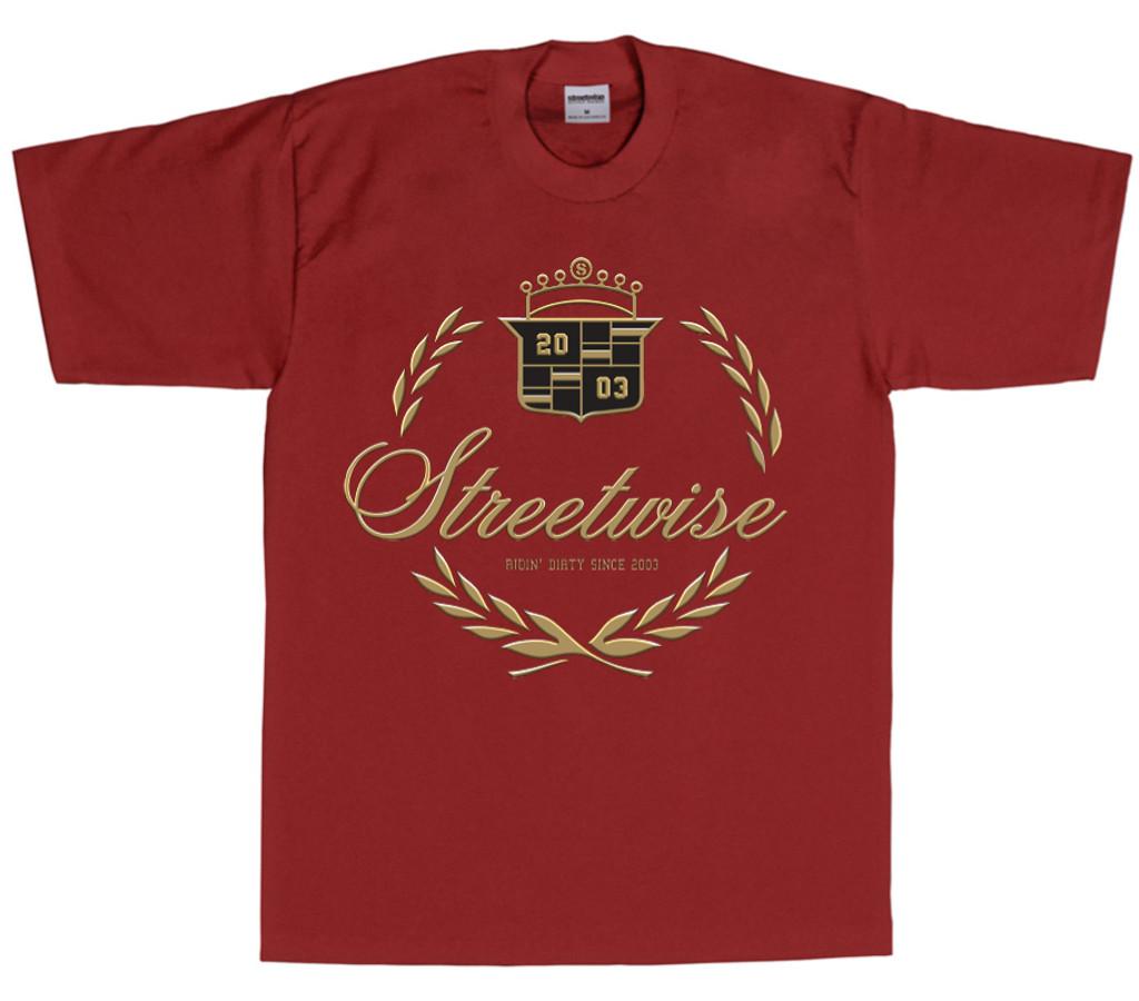 Caddy T-Shirt (Burgundy)