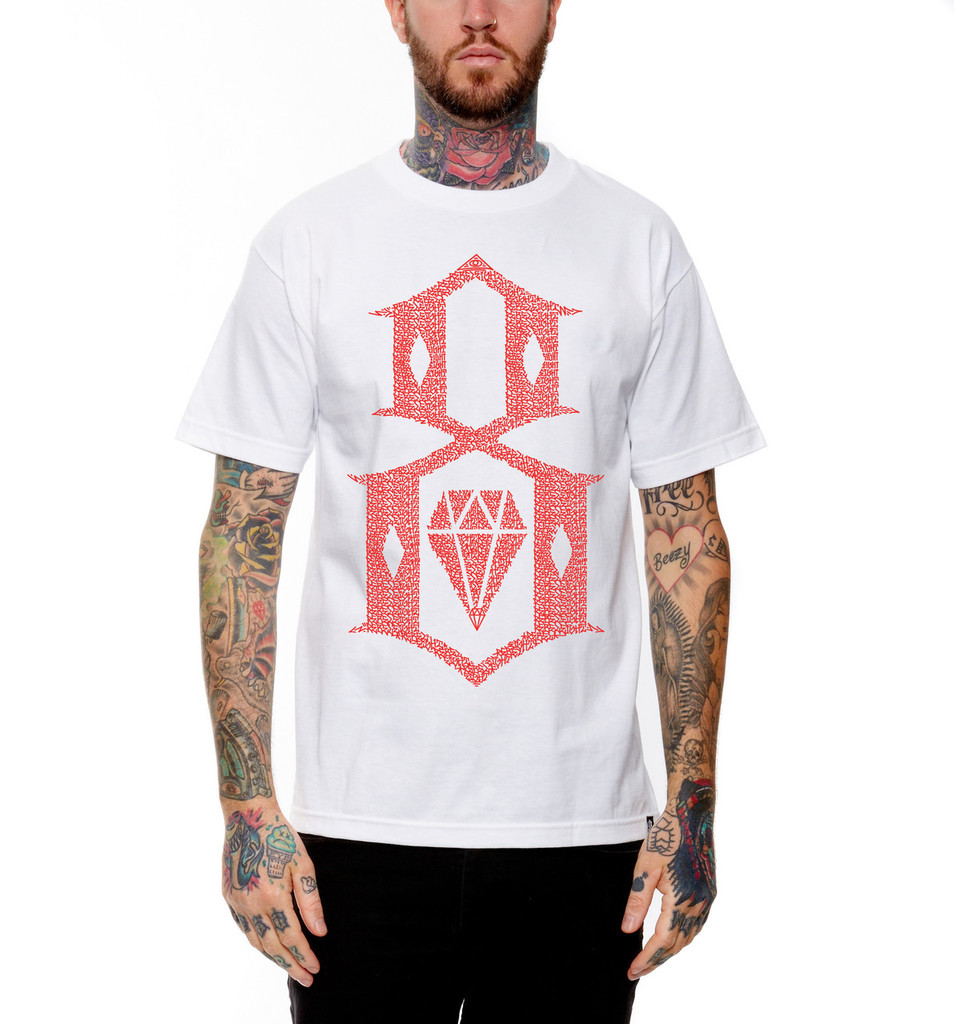 Rebel8 Roll Call T-Shirt  (White)