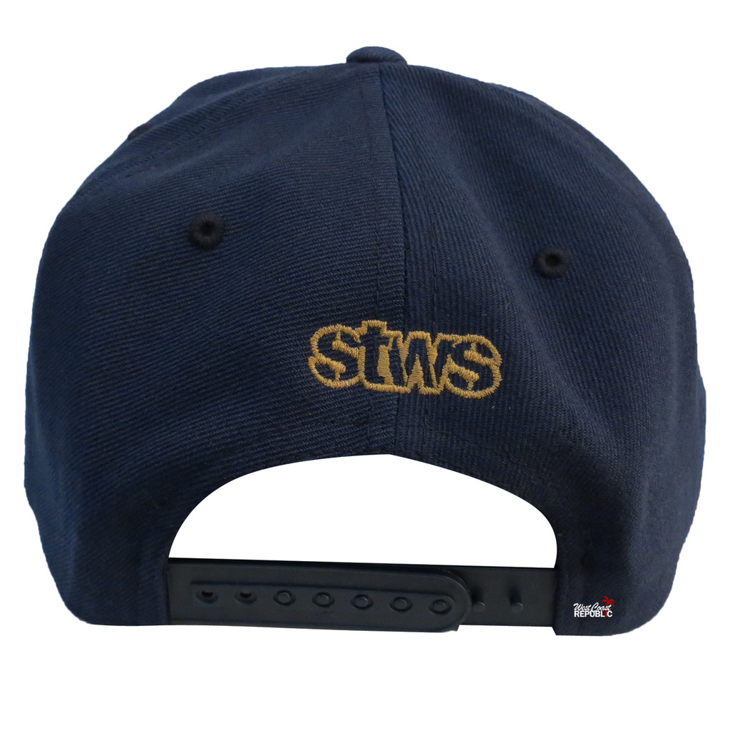 Streetwise Home Sick Snapback Hat (Navy)