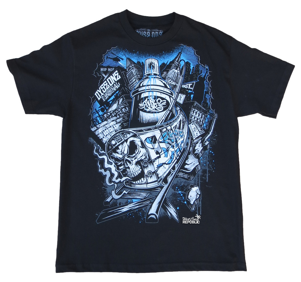 Front - Dyse One Coast'n T-Shirt (Black)