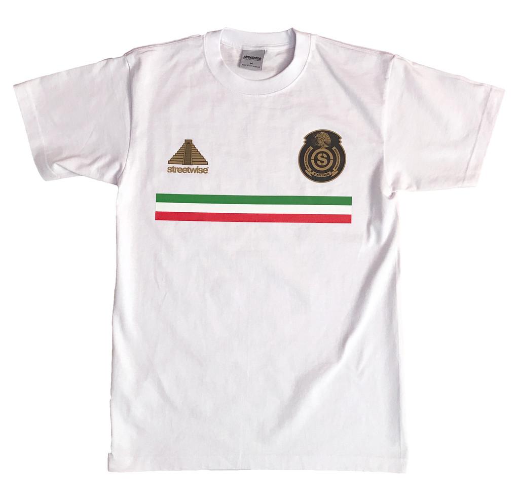 Streetwise El Tri T-Shirt WHT