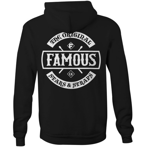 Famous Stars and Straps Chaos Patch Zip Hoodie