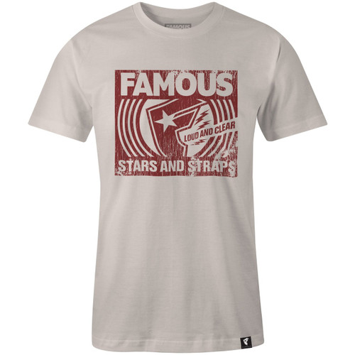Famous Stars and Straps - Loud & ClearT-Shirt