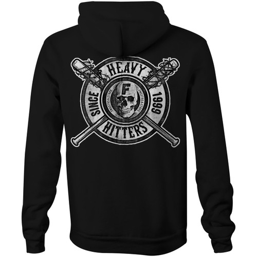 Famous Stars and Straps Heavy Hitters Zip Hoodie (back)