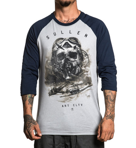 Sullen Air Fight Raglan