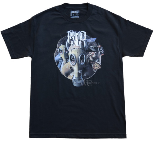 Psycho Realm Gas Mask T-Shirt  x Tribal Gear