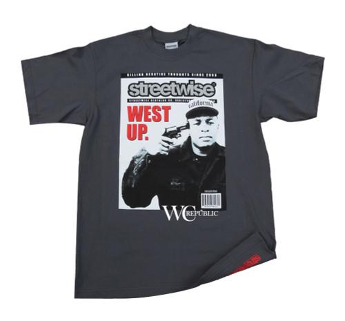 Men's Streetwise Dr Dre West Up T-Shirt