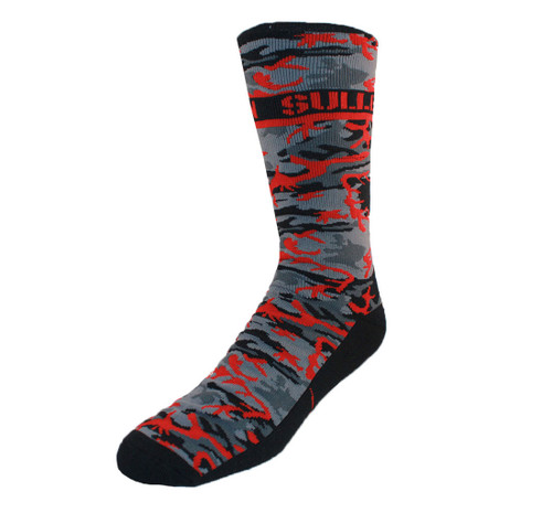 Sullen Hunted Socks Red Camo