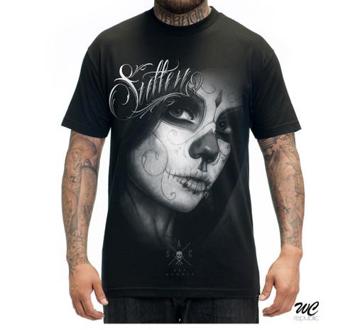 Sullen Clothing Loved black t-shirt.