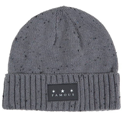 Famous Stars and Straps Cable Patch Beanie