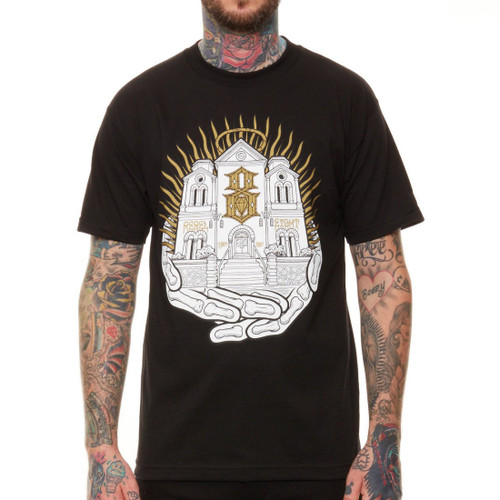 Rebel8 Cathedral of the 8 T-Shirt in black