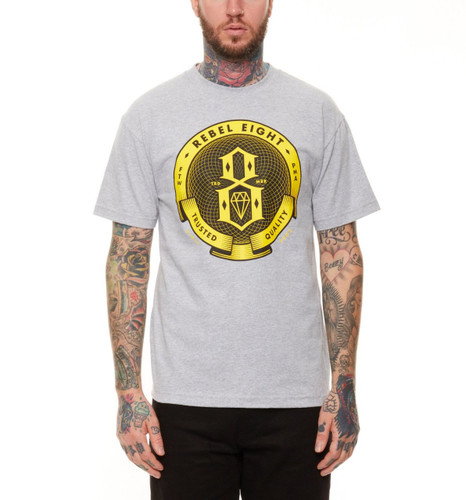 Rebel8 Guilloche T-Shirt