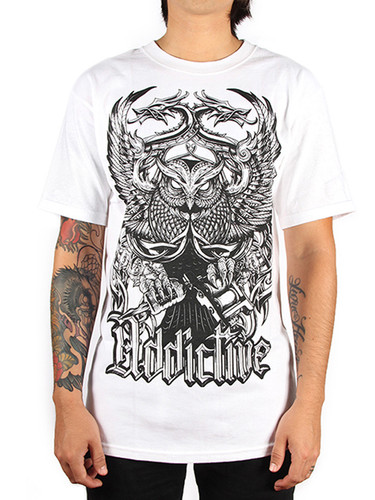 Addictive Tattoo Owl T-Shirt
