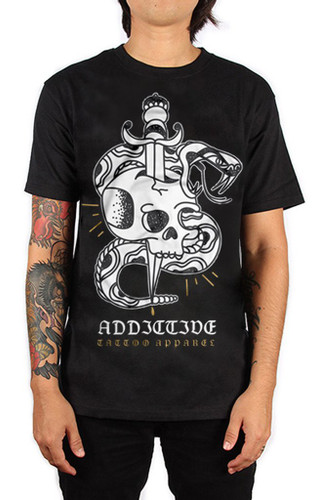 Addictive Skull Dagger T-Shirt