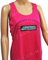 Jesus Muscle - Christian Shirt - Pink