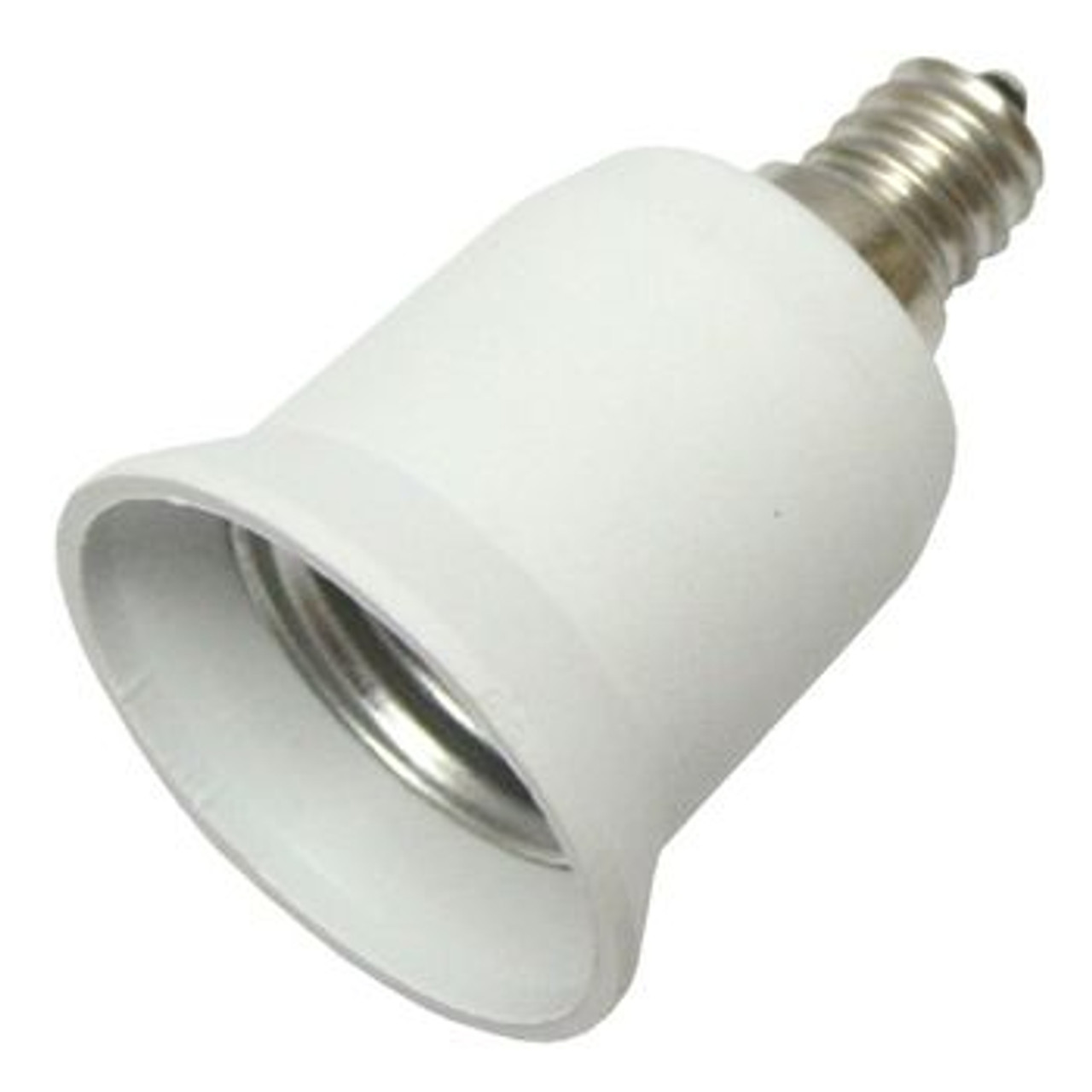 E12 to E26 Chandelier Light Socket Adapter - Pride LED Lighting