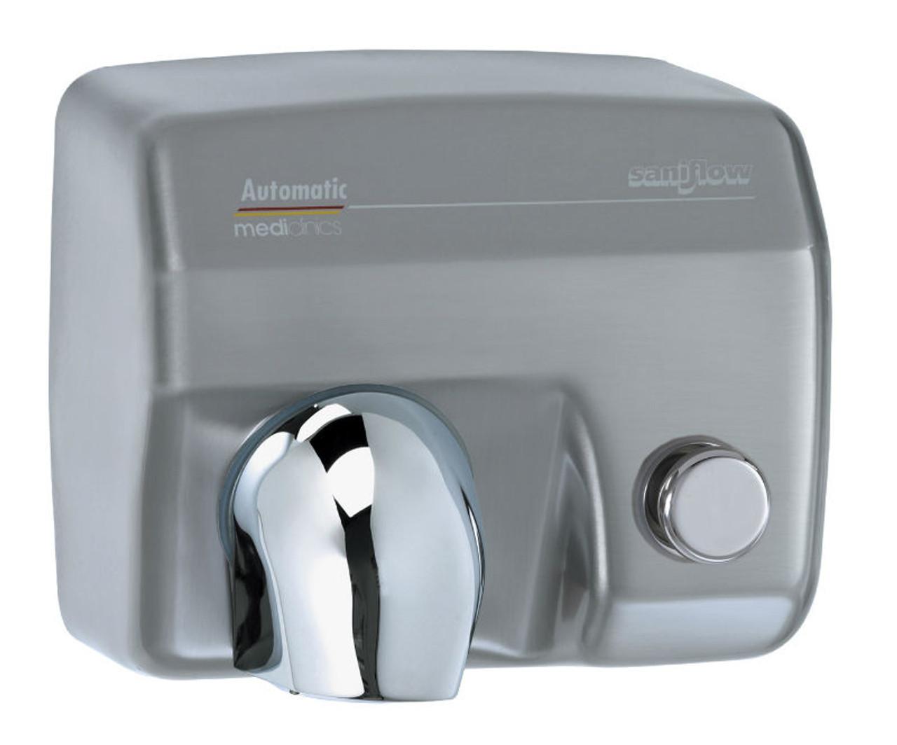 Wallmountdryer Com Saniflow E88cs Push Button Hand Dryer