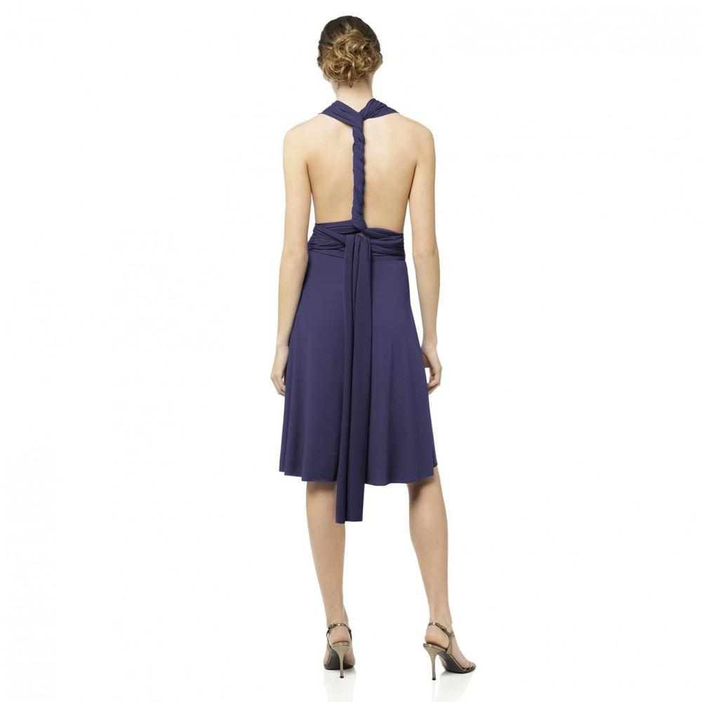 ALYSE Twist Wrap Short Dress By Dessy
