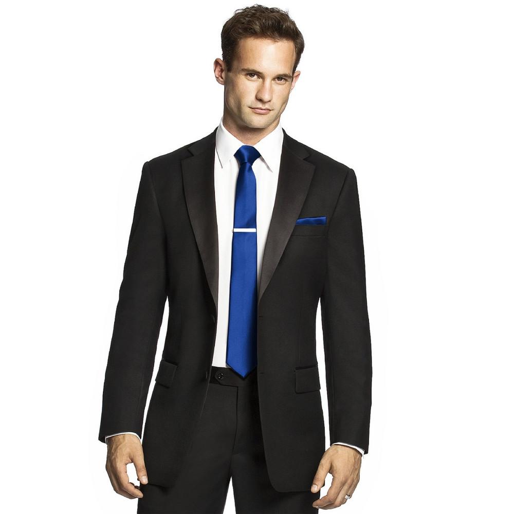 Men's Skinny Tie in Duchess Satin by Dessy