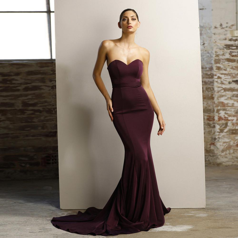 0e8895cebdc73 Burgundy Bridesmaids Dresses. Plum Berry Jadore Formal Dresses ...