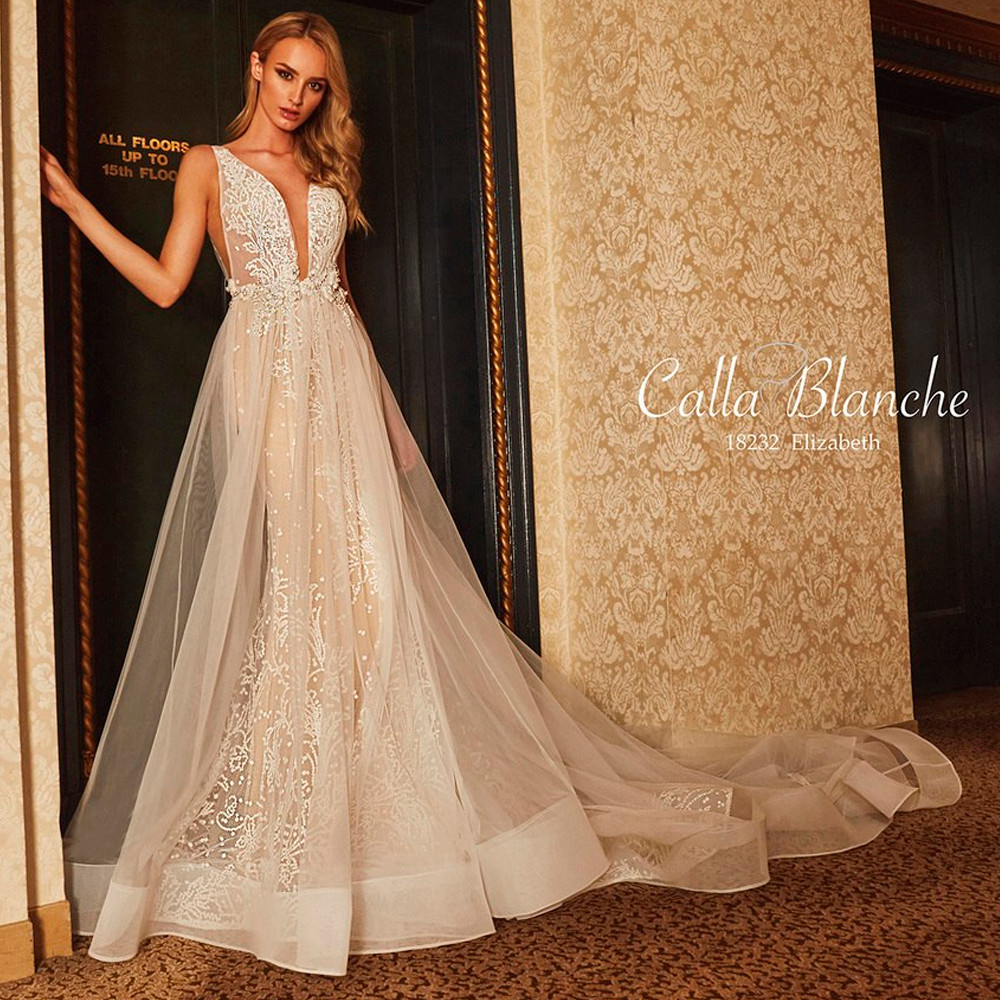 Elizabeth Wedding Gown by Calla Blanche