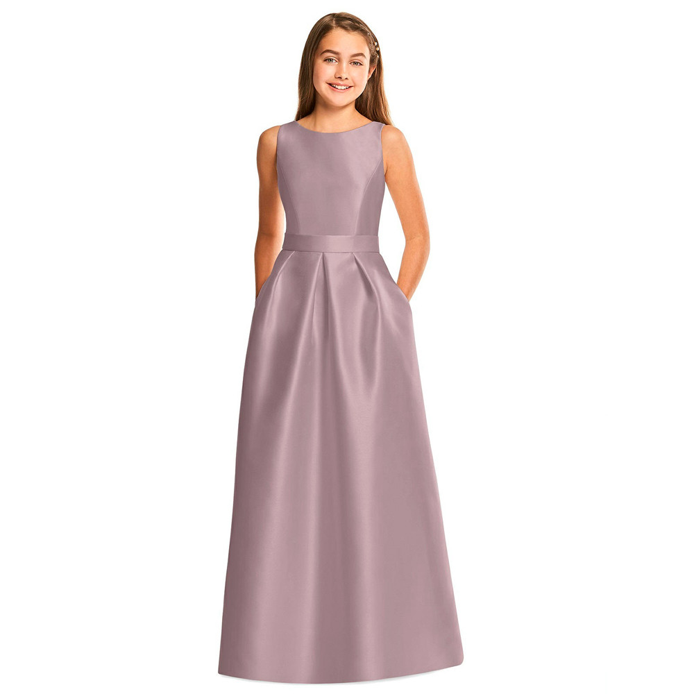 544 Dessy Junior Bridesmaid Dresses Online Australia Sydney Melbourne Adelaide Brisbane Perth Afterpay