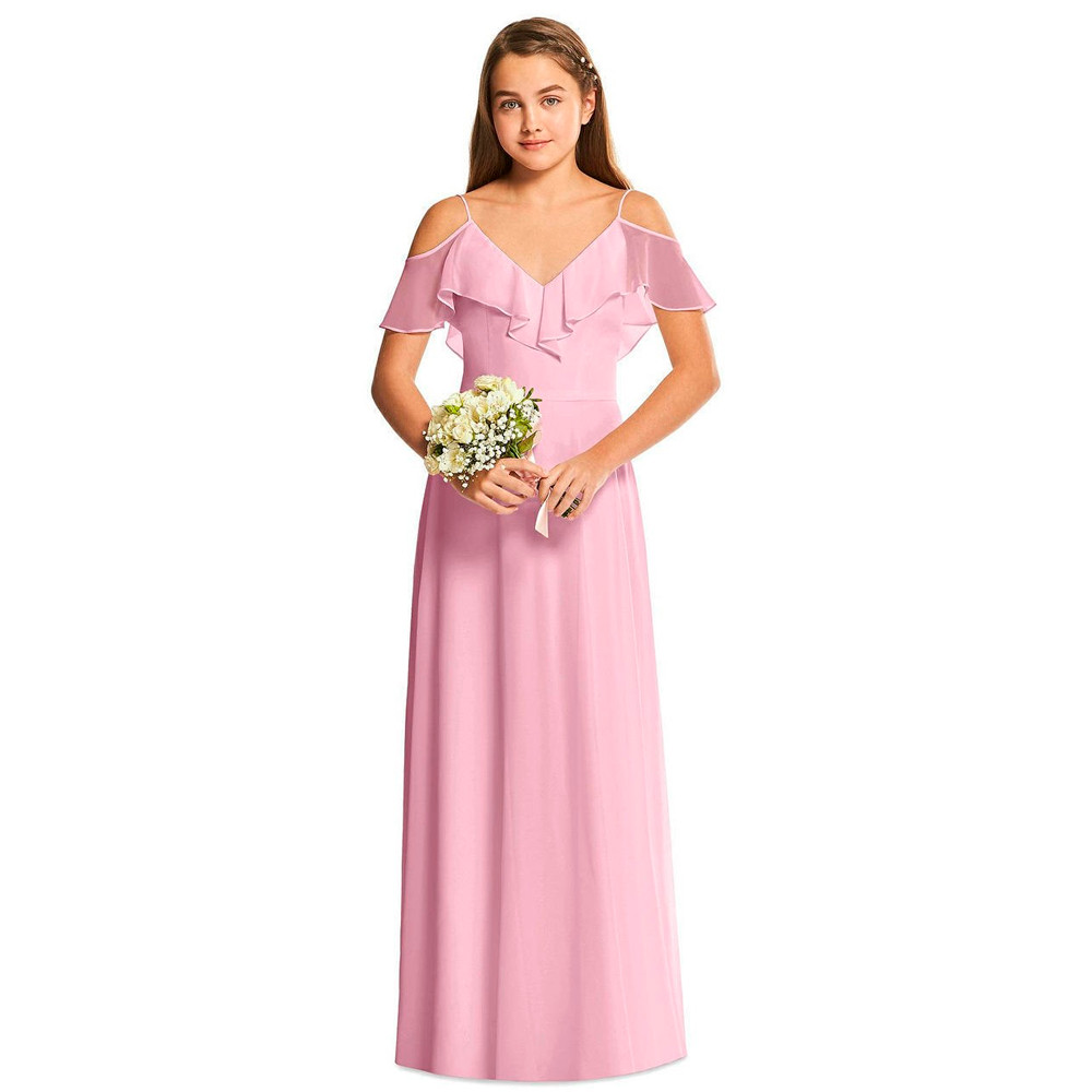 Dessy Junior Bridesmaid Dress JR548