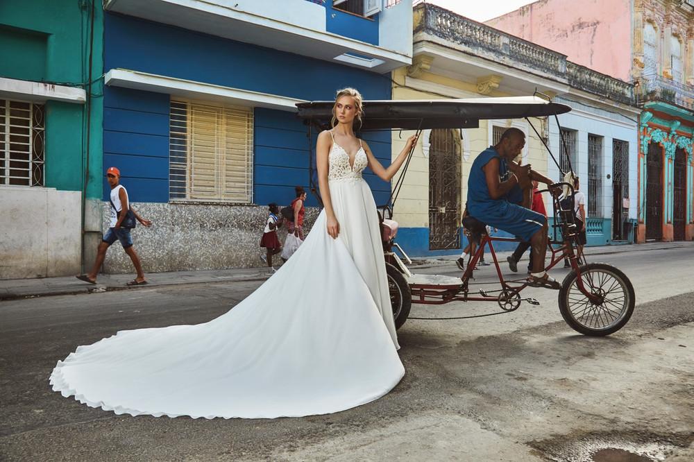 LA8237 Drew Calla Blanche Bridal L'amour Wedding Dresses Melbourne Online Australia Sydney