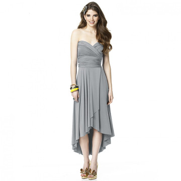 ALYSE The TWIST Convertible Dress with Faux Wrap Skirt Detail By Dessy