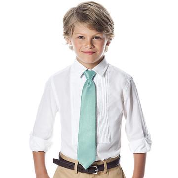 "Boy's 50"" Dupioni Neck Tie"