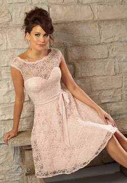 Amie Lace Dress By Mori Lee Lace Affairs