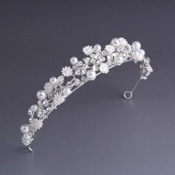 Bridal Floral Headpiece Tiara