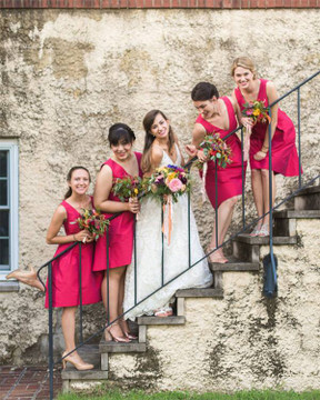 Alfred Sung Bridesmaids D588