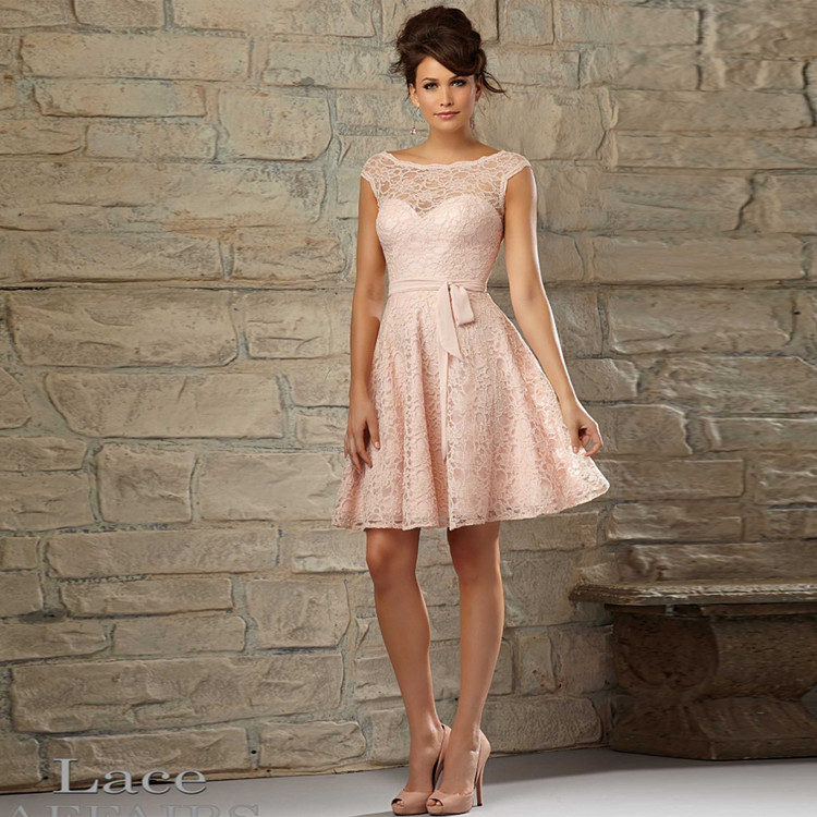 Amie Lace Dress By Mori Lee Lace Affairs in 12 colours