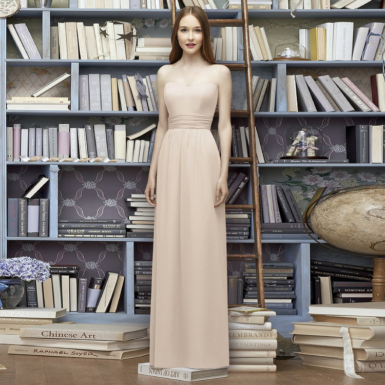 Lela Rose Long Bridesmaid Dress LR226