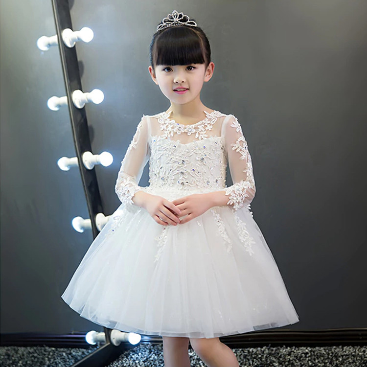 Sophia Short Flower Girl Dress