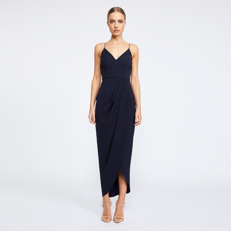 Shona Joy Core Cocktail Dress - Navy