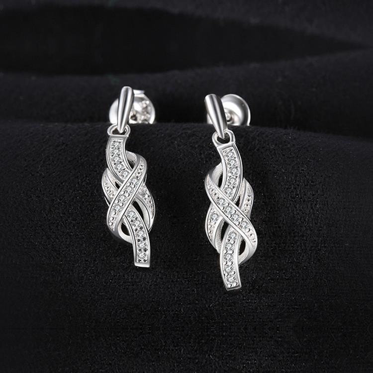 Infinity Pendant earrings