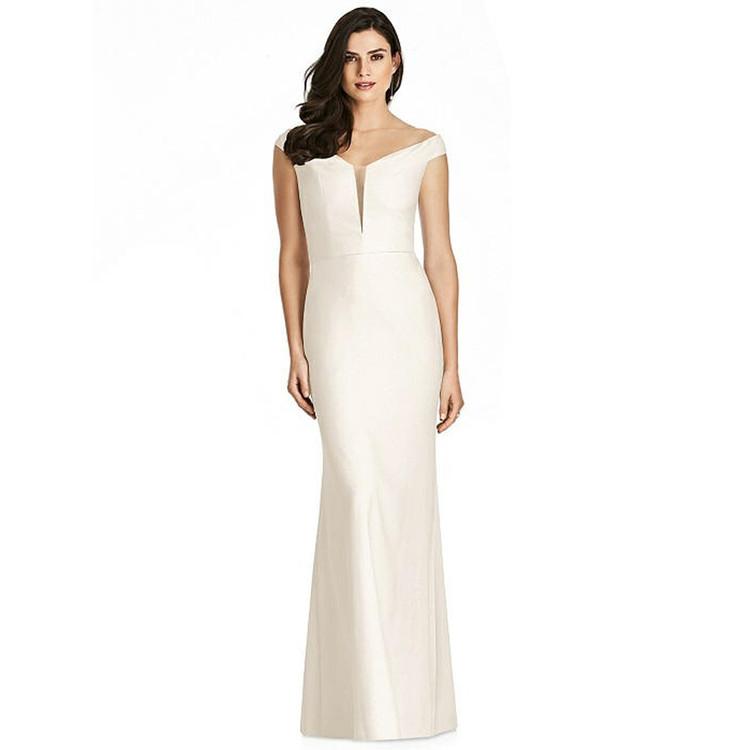 Dessy Dress 3016N1 in Ivory US12
