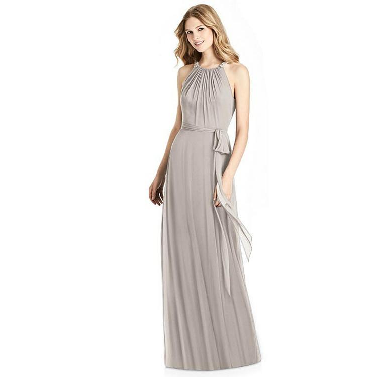 Jenny Packham Bridesmaids Dress JP1007 in Taupe US10