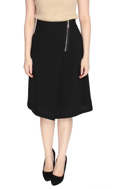 Side Zipper Skirt