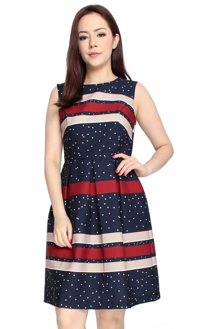 Dots & Stripes Dress
